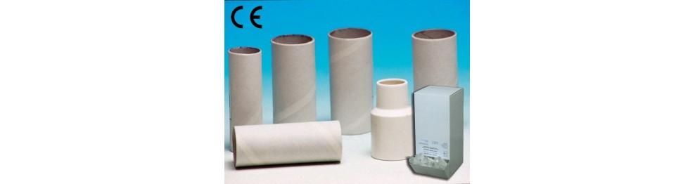 Boccagli, carta e stringinaso per spirometri