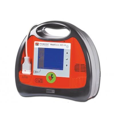 DEFIBRILLATORE HEART SAVE AED-M - con monitor - EN, IT, ES