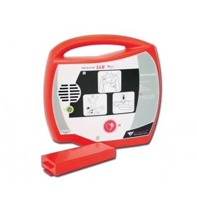 DEFIBRILLATORE AED RESCUE SAM - francese