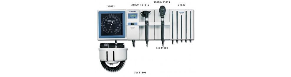 Stazione diagnostica da parete Riester