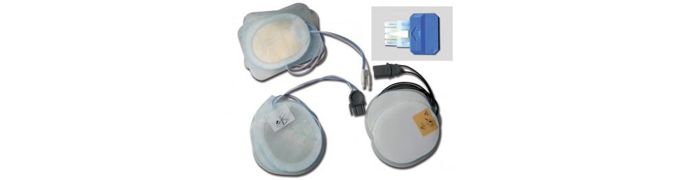 Placche compatibili per defibrillatori